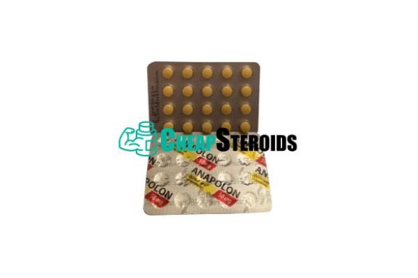 Anapolon 50 mg (Анаполон 50 мг)