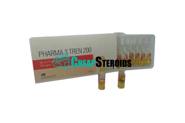 3 Tren 1 мл/200 мг (Три Трен 200 мг)
