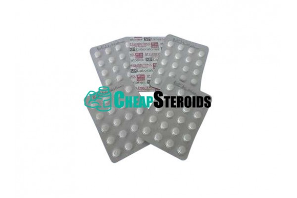Clenbuterol SP Laboratories 40 mcg (Кленбутерол 40 мкг)