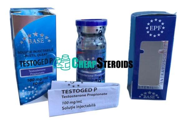 Testoged-Р 10 мл по 100 мг (Тестостерон Пропионат)