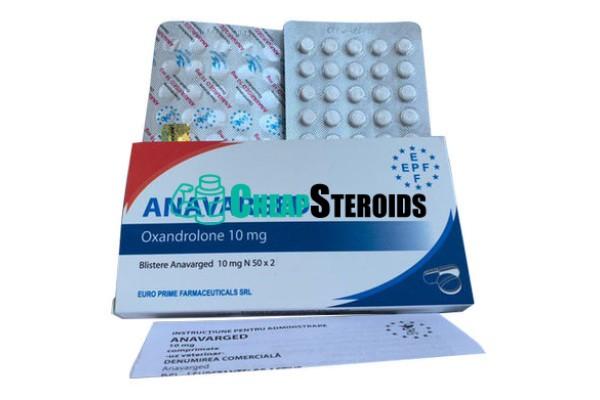 Anavarged 10 mg (Оксандролон 10 мг)