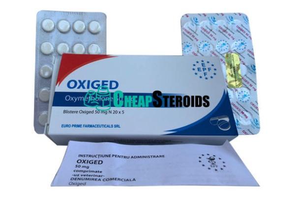 Oxiged 50 mg (Оксиметолон 50 мг)