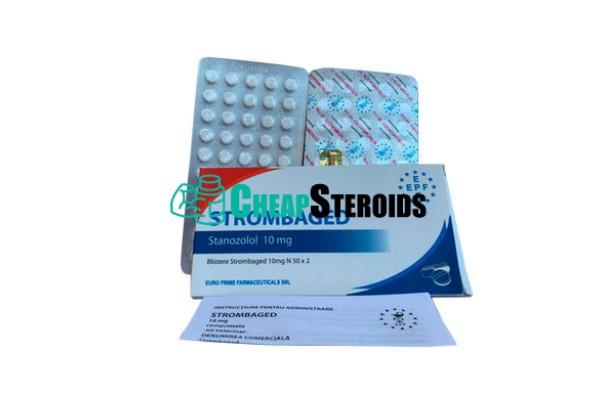 Strombaged 10 mg (Станозолол 10 мг)