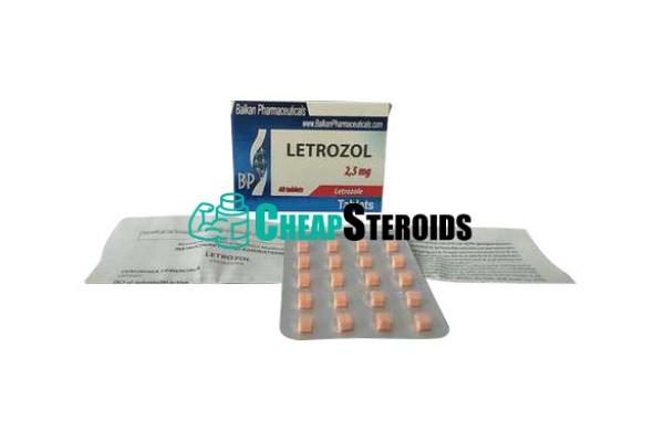 Letrozole 2,5 mg (Летрозол)