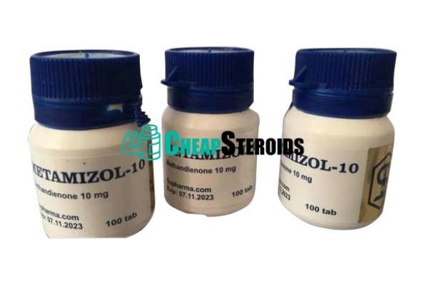 Metamizol 10 mg (Метандиенон)