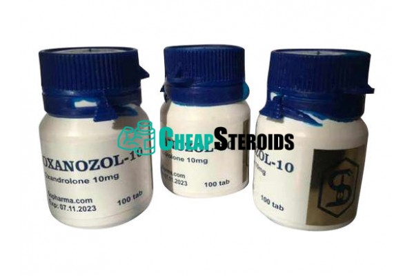 Oxanazol 10 mg (Оксандролон)