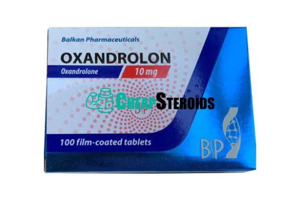 Oxandrolon 10 mg (Оксандролон 10 мг)