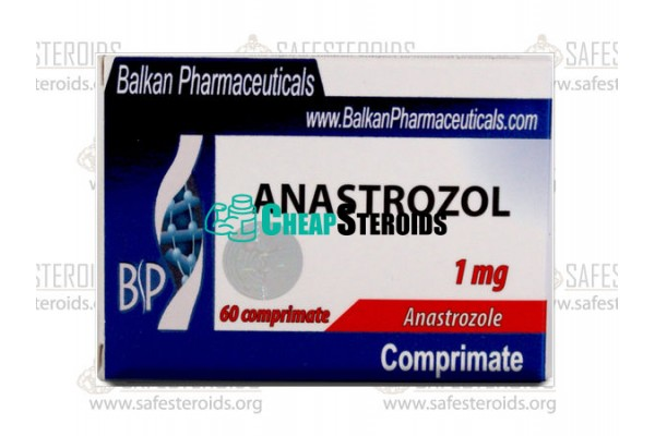 Anastrozole 50 tabs по 1 mg (Анастрозол 1 мг)