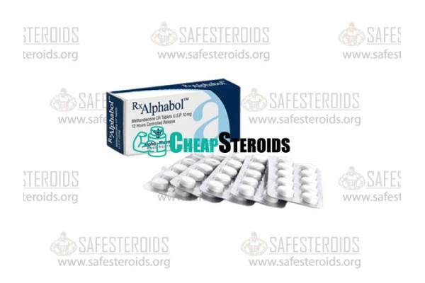 Methandienone 50 tabs по 10 mg (Метандиенон 10 мг)