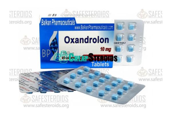 Oxandrolone 50 tabs по 10 mg (Оксандролон 10 мг)
