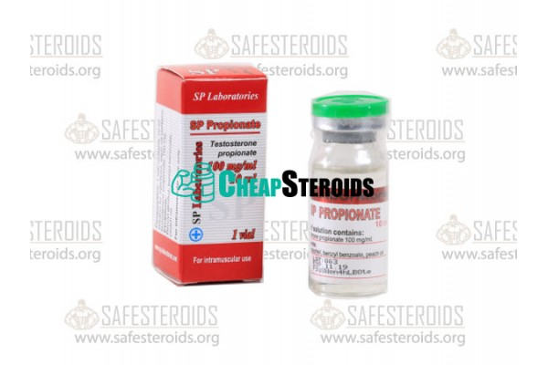 Testosterone Propionate 10 мл по 100 мг (Тестостерон Пропионат 100 мг)