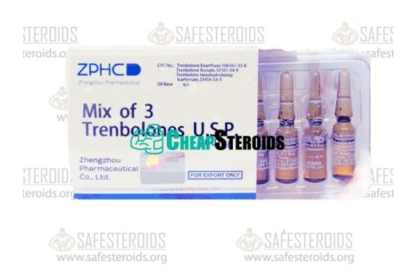 Trenbolone Mix 10 мл по 200 мг (Микс Тренболонов 200 мг)